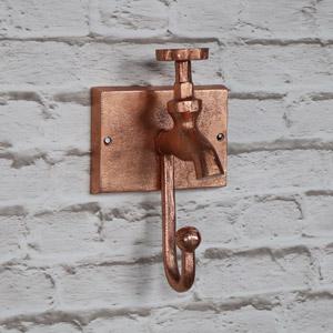 Copper Metal Tap Wall Hook
