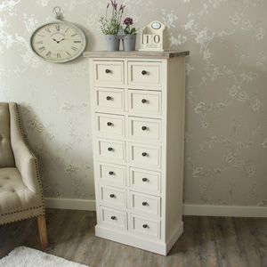14 Drawer Tall Boy - Cotswold Range