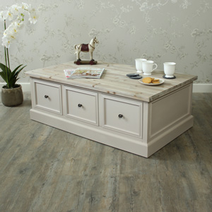 Six Drawer Coffee Table - Cotswold Range