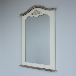 Country Ash Curved Mirror