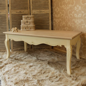 Country Ash Range - Cream Coffee Table