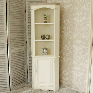 Country Ash Range - Cream Display Corner Unit