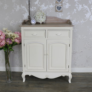 Cream Hallway Storage With Drawers - Country Ash Range