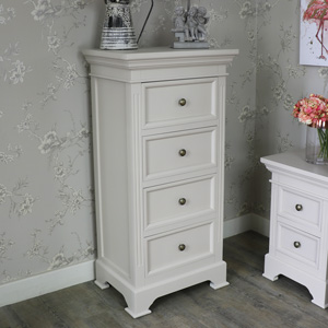 Four Drawer Wellington Tall Boy Chest - Daventry Range