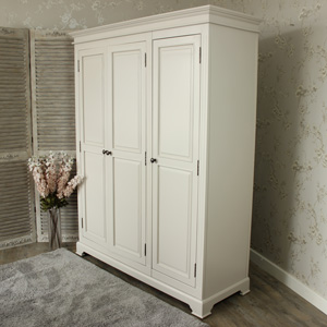 Daventry Range - Triple Grey Wardrobe