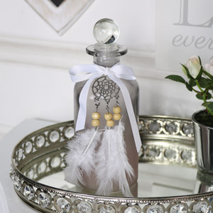 Decorative Glass Dreamcatcher Bottle