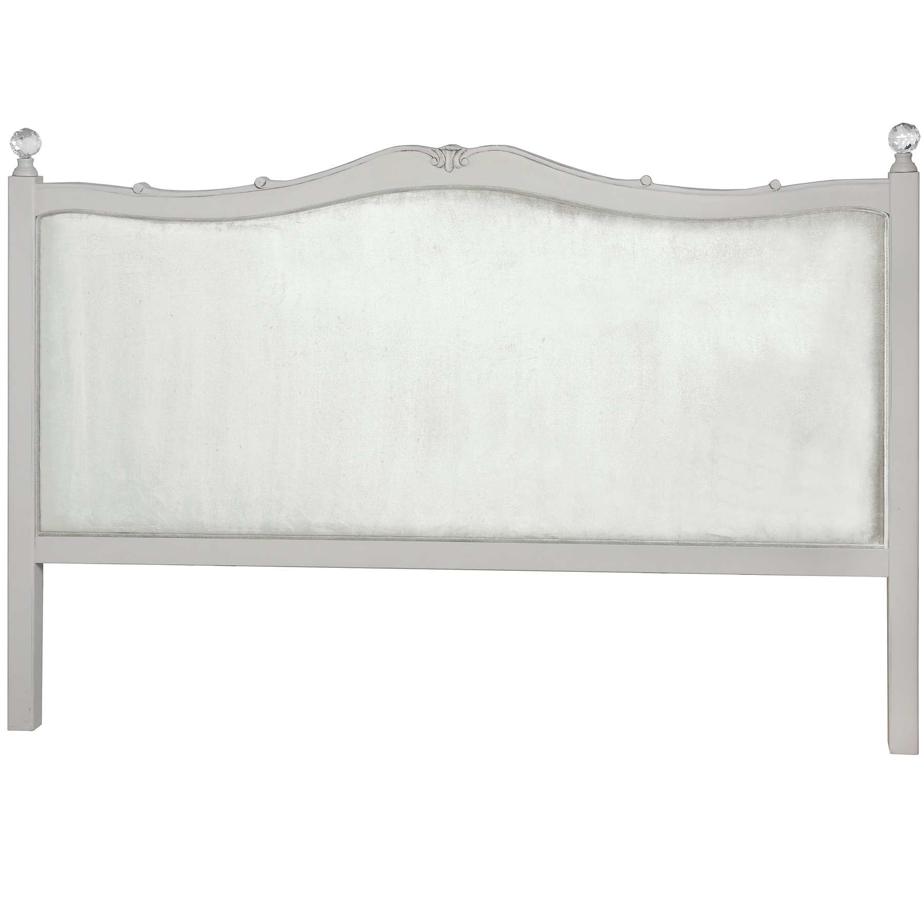 Elise Grey Range - King Size Headboard