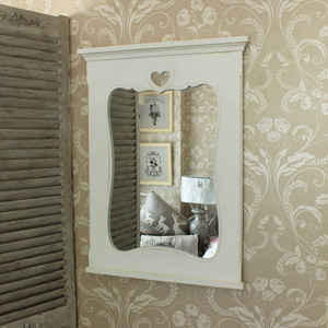 Large Wall Mirror With Heart