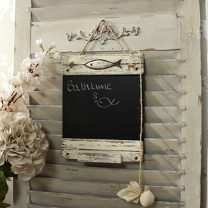 Fish Driftwood Chalk Board