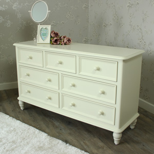 Florence Range - Cream 3 Over 4 Chest