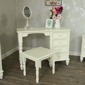 Florence Range - Cream Dressing Table And Stool Set