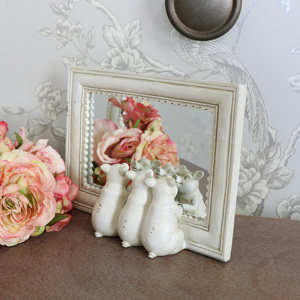 Freestanding Three Pigs Mirror