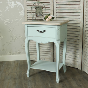 Genevieve Range - One Drawer Bedside Table
