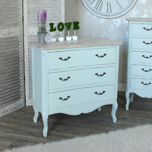 Genevieve Range - Three Drawer Chest