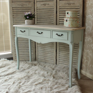 Genevieve Range - Three Drawer Console Table