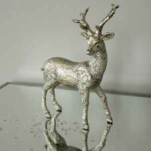 Walking Stag Ornament