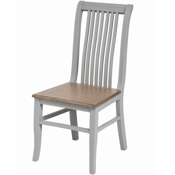 Grey Wooden Dining Chair - Admiral Range