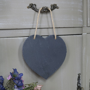 Heart Slate Chalk Board