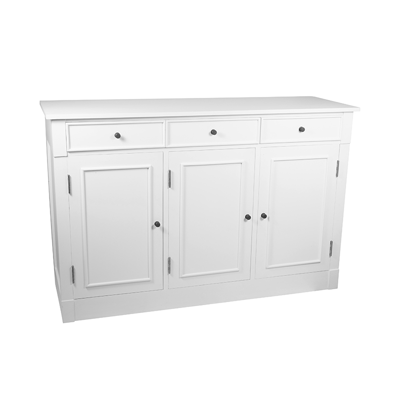 Heritage Range - Antique White Wooden Sideboard
