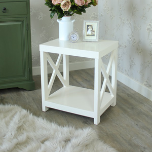Heritage Range - Antique White Wooden Table