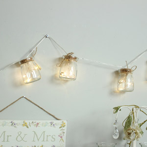Jar String Fairy Lights