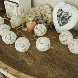 Lace Covered LED String Fairy Lights