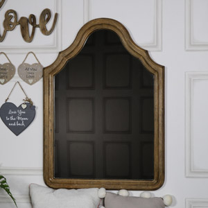 Large Arched Wall Mirror - Aston Range 63cm x 88cm