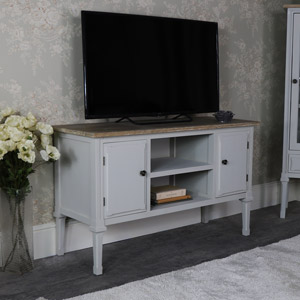 Large Grey TV/Media Cabinet - Stanford Range