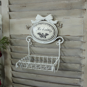'Le Bain' Metal Soap Holder