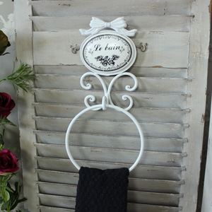 'Le Bain' Towel Ring Holder