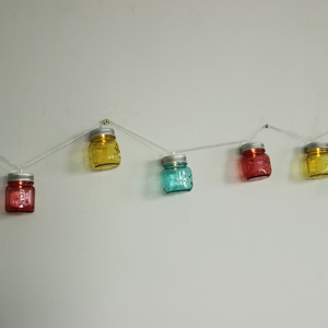 LED Mason Jar Style Fairy Lights
