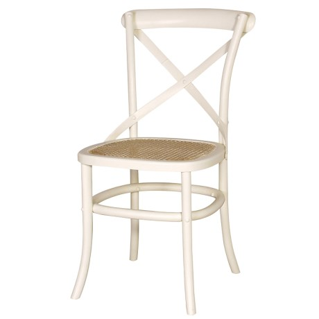 London Range - Cream Rattan Chair