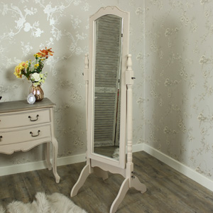 Floor Standing Cheval Mirror - Louisiana Range 50cm x 166cm