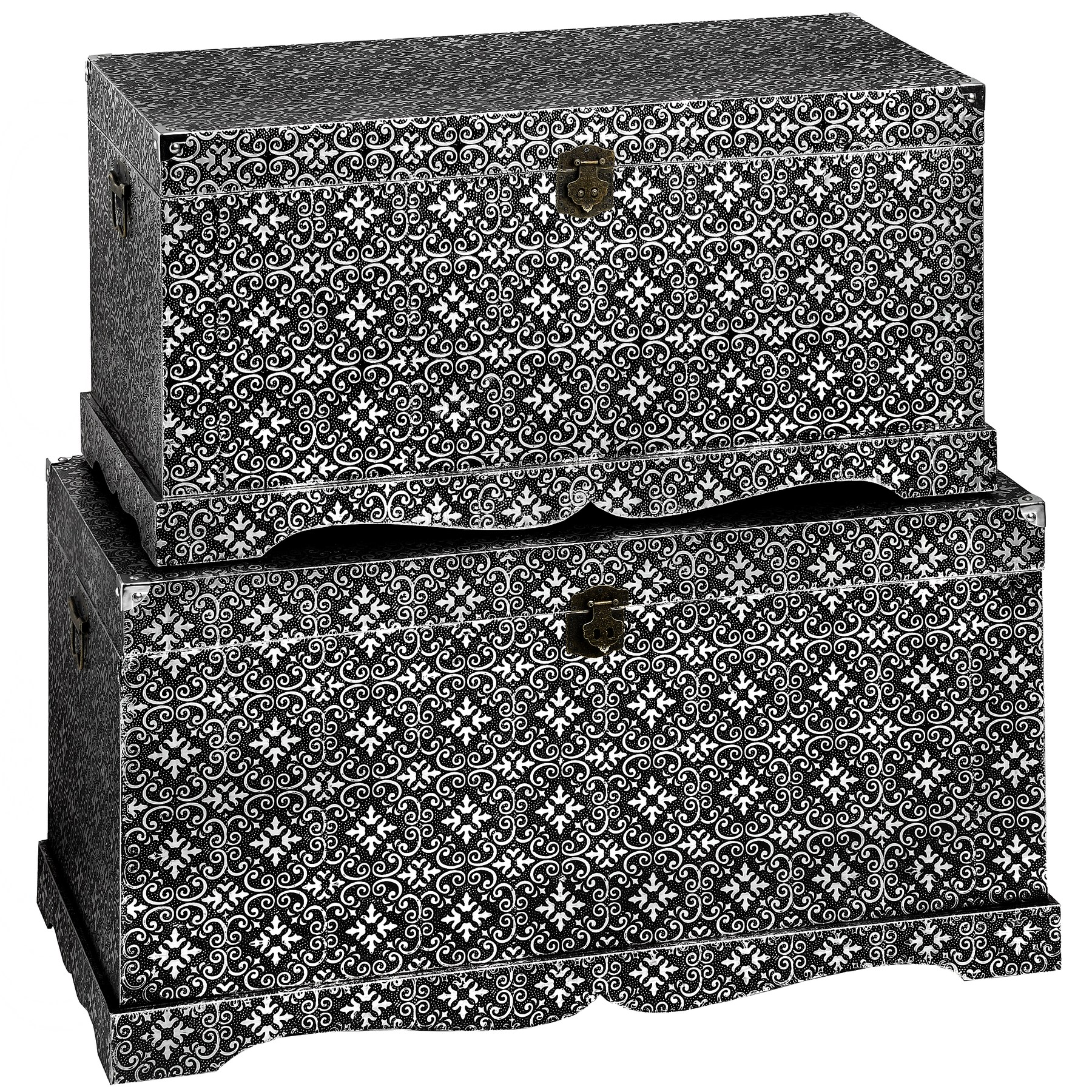 Marrakech Range - Set of 2 Blanket Boxes