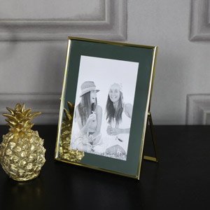 Mirrored Gold Photograph Frame