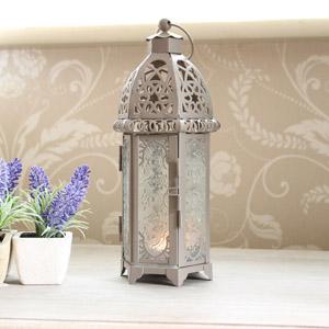 Moroccan Style Tealight Lantern