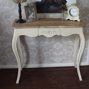 Normandy Range - Cream Dressing / Console Table