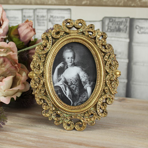 Ornate Gold Photograph Frame