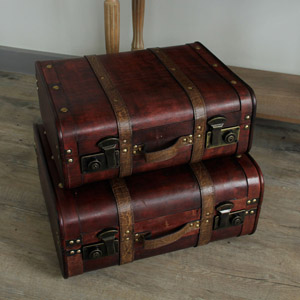 Pair of Connoisseur Suitcases