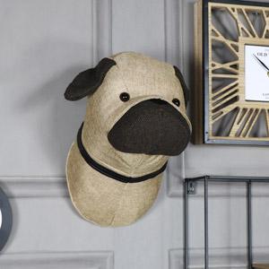 Pug Head Wall Decoration