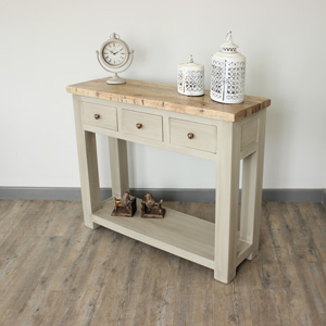 Richmond range - Grey Console Unit with Storage