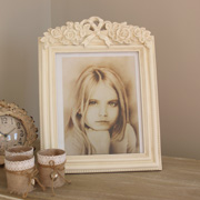 Rose decorated 8 x 10 Photograph Frame