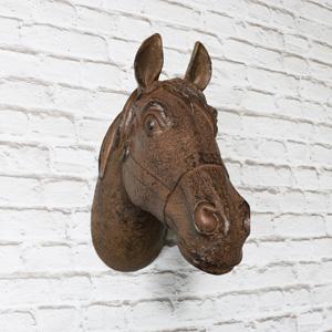 Rustic Decorative Wall Horse Head