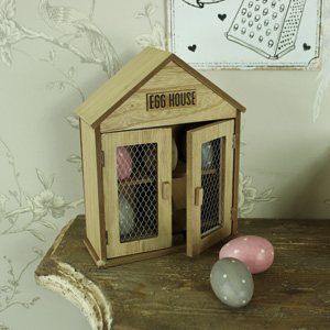 Rustic Egg Storage House