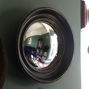 Rustic Round Wall Mirror