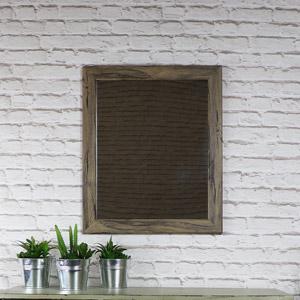Rustic Washed Wall Mirror 49cm x 59cm