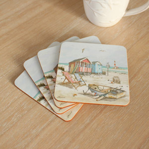 Set of 4 Sandy Bay Coasters