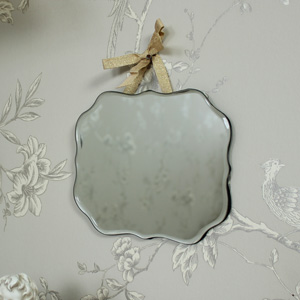 Small Ornate Wall Mirror