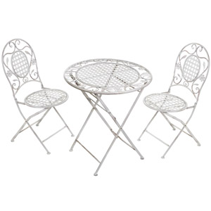 Table And Two Chairs Bistro Set