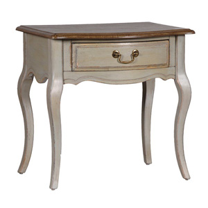 The Aston Range - Grey Painted Bedside Table